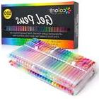 100 Gel Pens Set Fine Point Drawing Art Markers with RARE Co