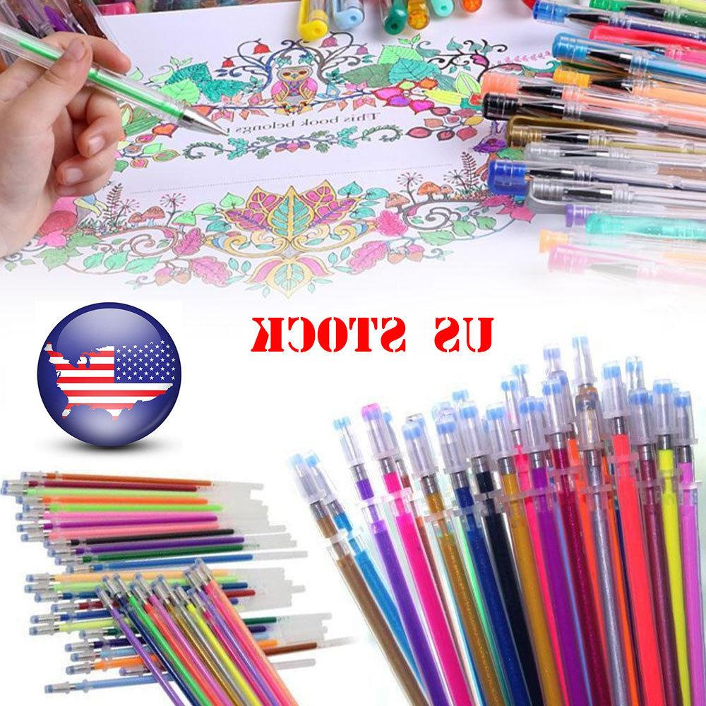 12/36/48 Gel Pens Glitter Multifunction Drawing Painting Gra
