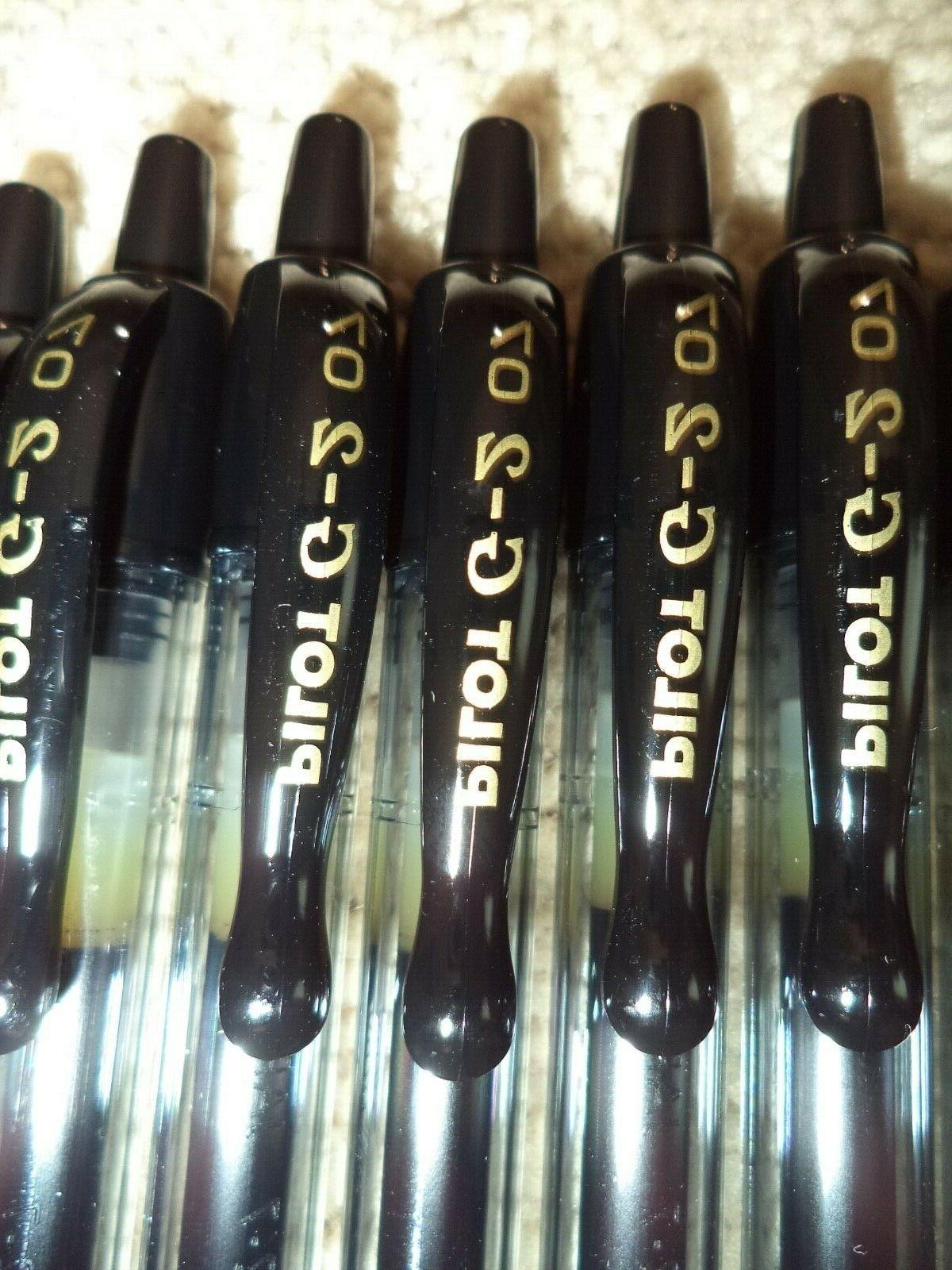 12 Gel Point 0.7mm BLACK