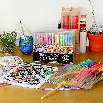 OfficeThink 130 Unique Gel Pens Grips Color Codes and ..