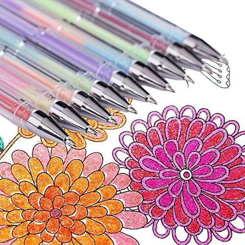 Reaeon Gel for Adult 200 Colors Gel Markers for Drawing Painting Writing Art & School Supplies