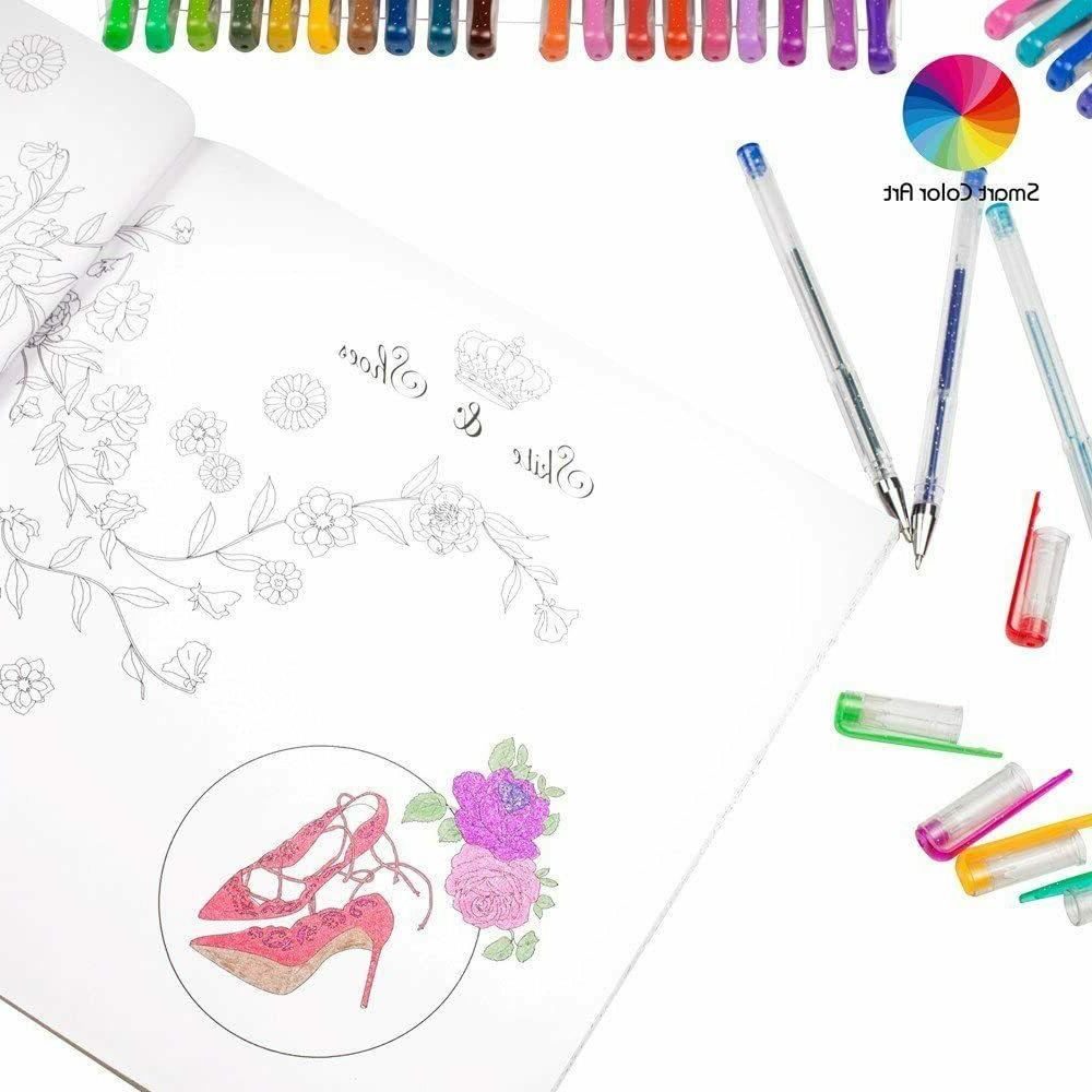 320 Set for Glitter Coloring Drawing Art