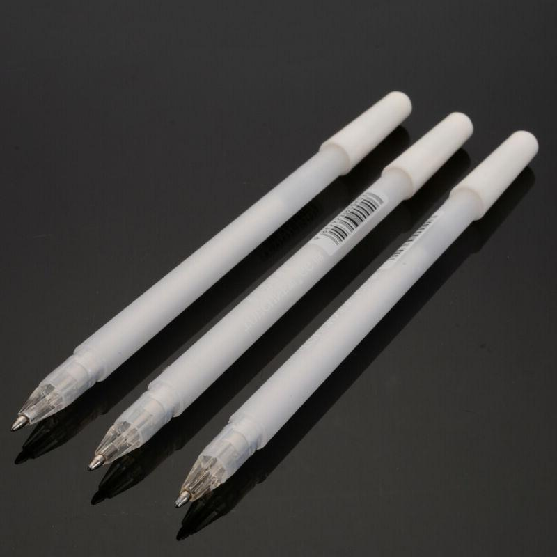 3Pcs 0.8mm White Gel Pens For With Archival Ink Sketching us