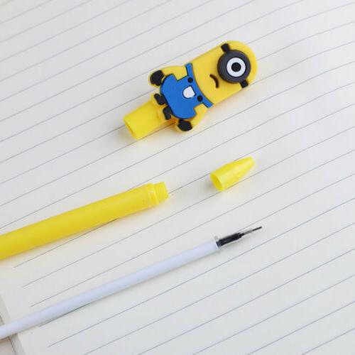 3Pcs Minions Me rollerball pens Business student