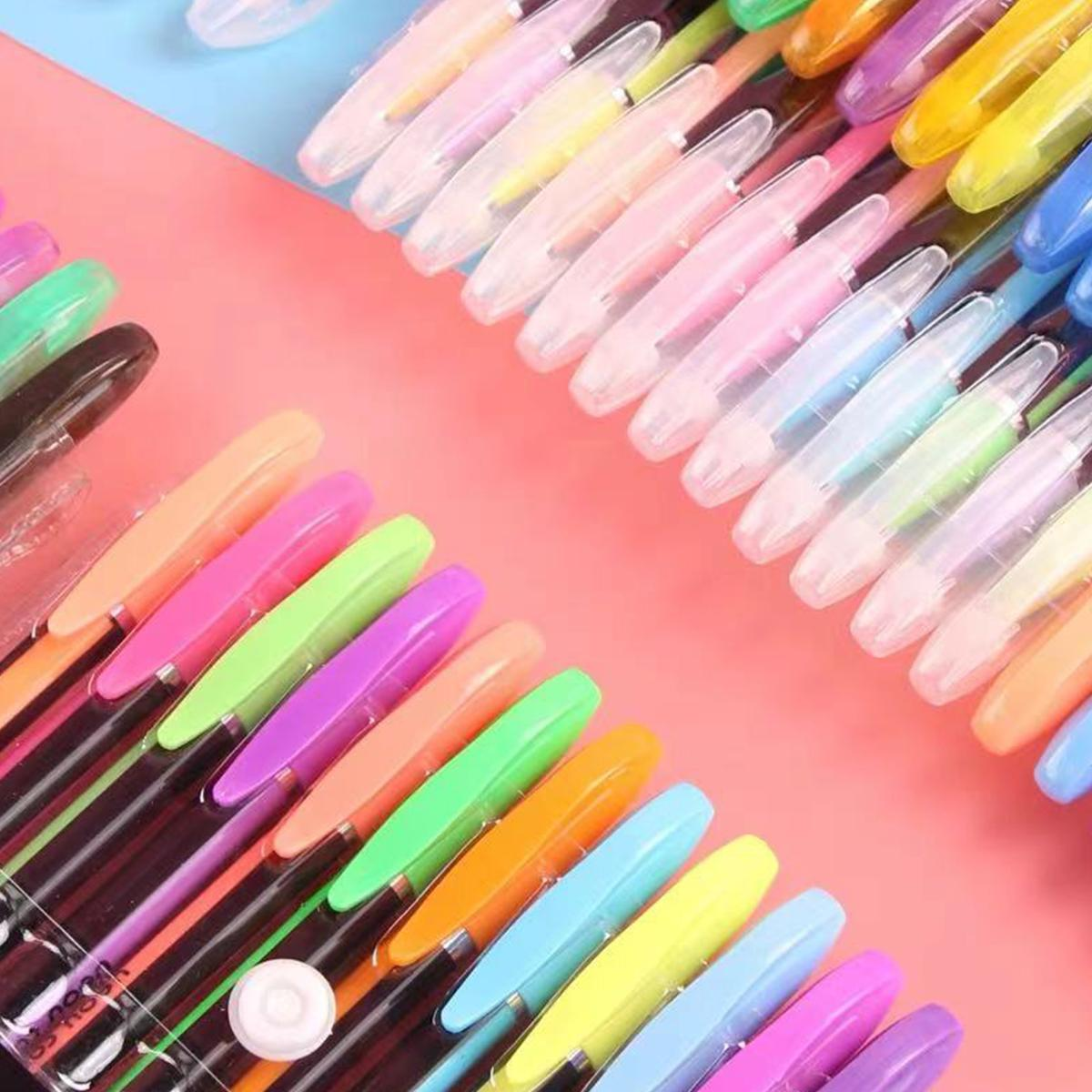 48 Colors Pens for Adult Coloring