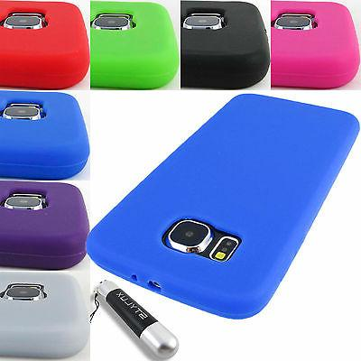 FOR SAMSUNG GALAXY S6 S 6 SOFT SILICONE RUBBER GEL SKIN CASE
