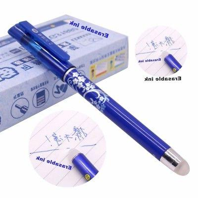 Erasable Pen Mm Tip Stationery Writing Pens Student 12PC