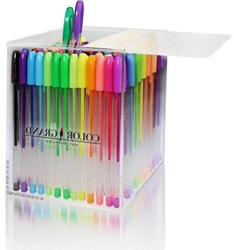 gel pens for adult coloring books 100