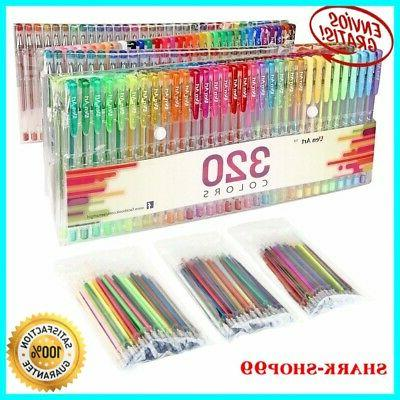 Gel 320 Glitter Coloring Writing Drawing Art