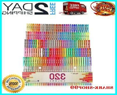 gel pens pen set 320 colors