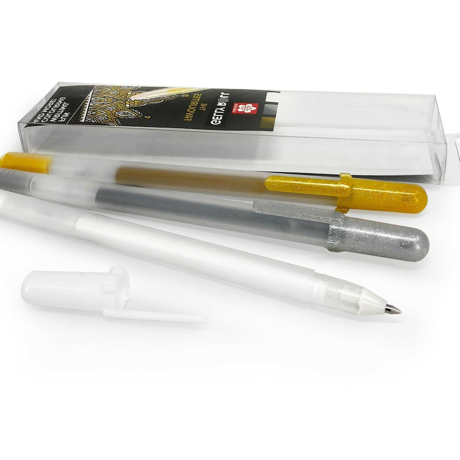 gelly roll gel pens the favourites gold