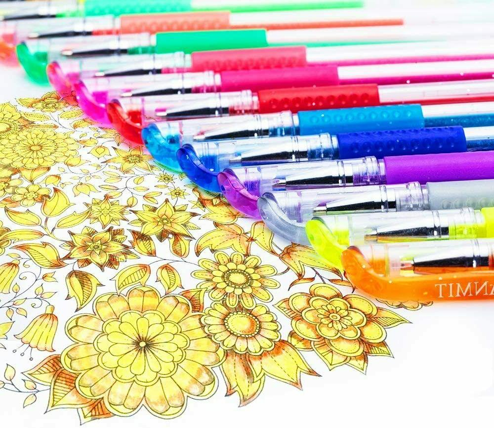 Glitter Colored Kits Adults Drawing
