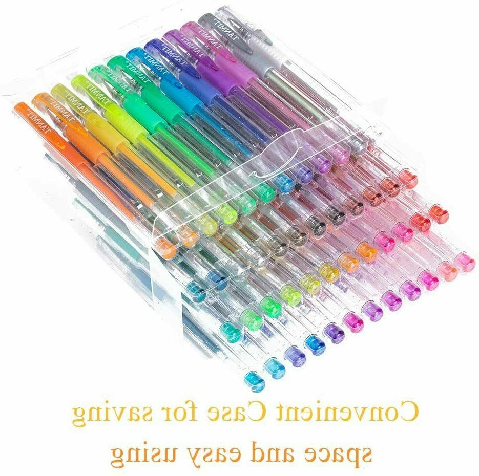 Glitter Colored Kits Coloring Adults Kids Drawing