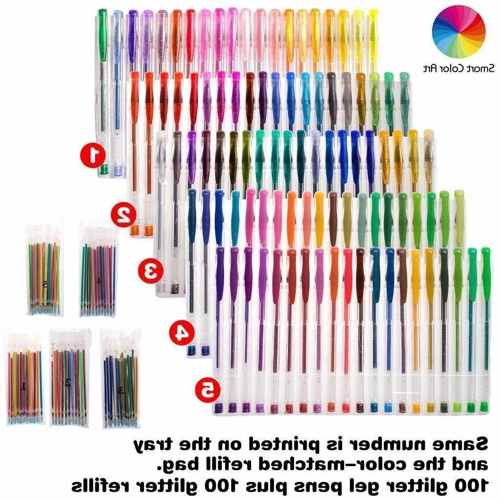 Glitter Gel Pens Adult Drawing Painting Writing