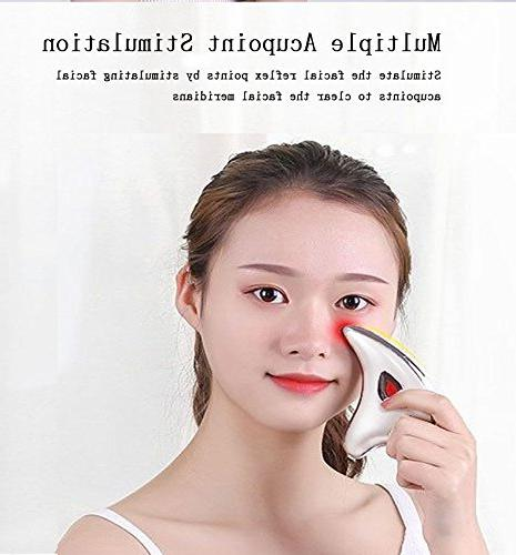 Gua Sha Massage Tool Device Body Massager Rechargeable Skin
