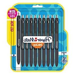 Paper Mate InkJoy Gel Pens, Medium Point, 0.7 mm, Black Barr