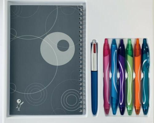 BIC Journaling Kit, Pens/Ballpoint Assorted 8-Count