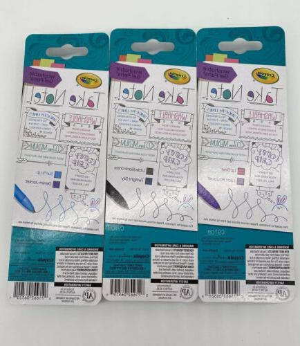 Lot Of Brand Washable 2 Non Toxic.