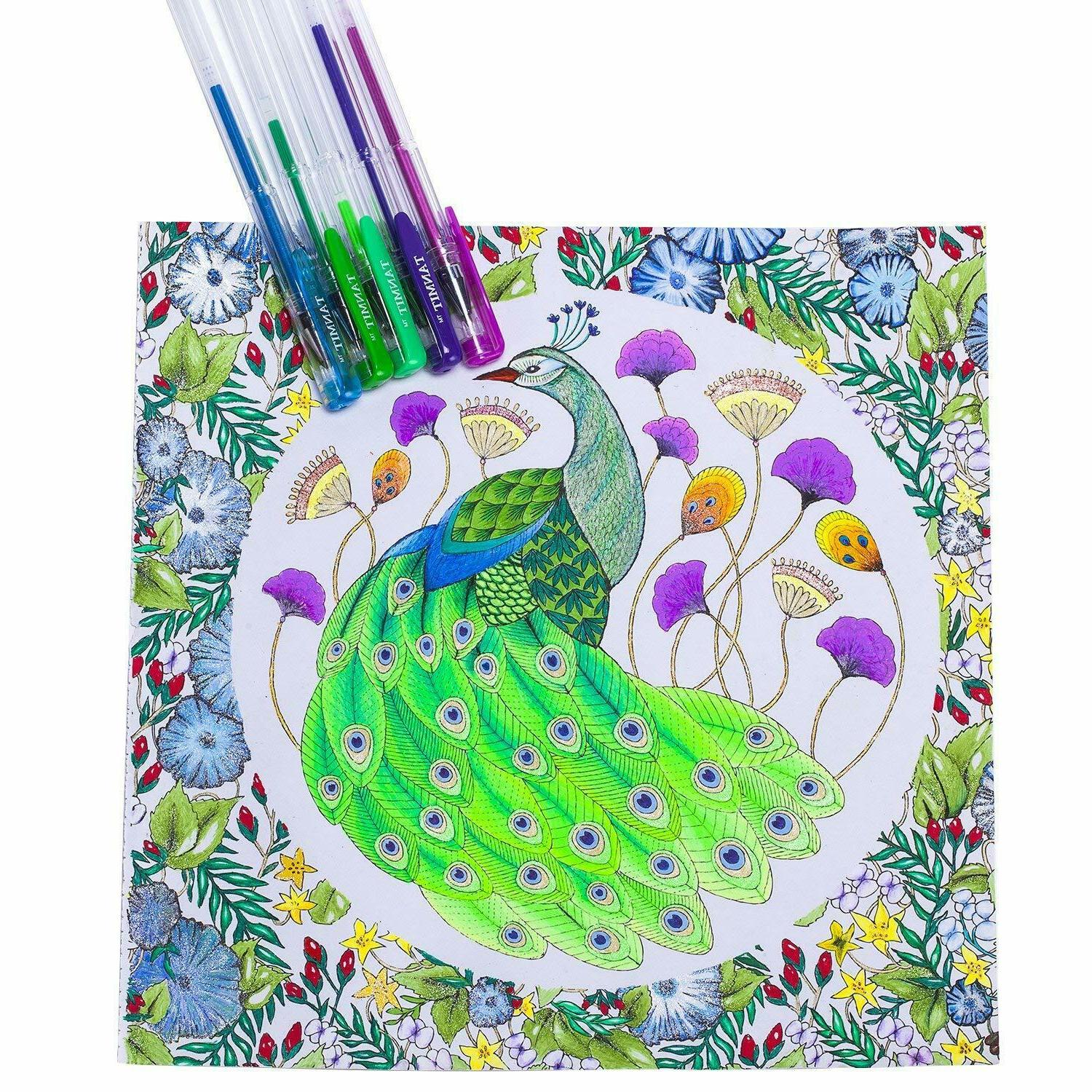M280240 Pens Set for Adults Coloring Drawing Markers