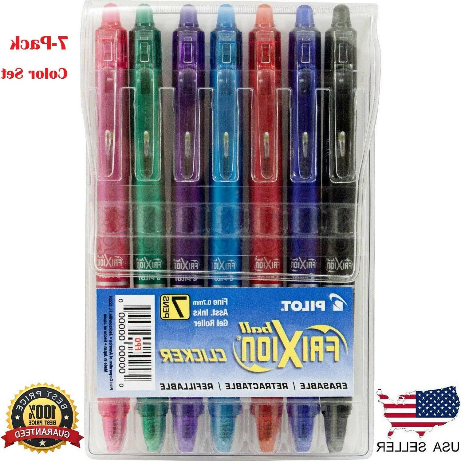 pens frixion 7 pack fine point gel