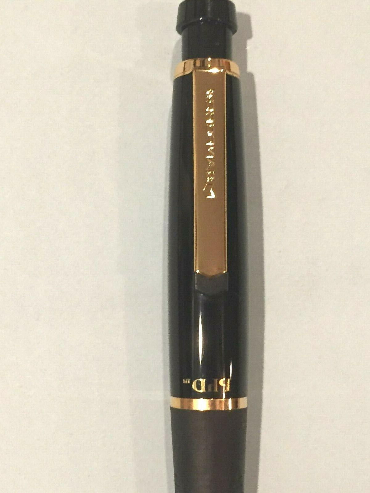 phd gel pen new black and gold