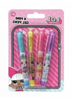 Officially Licensed LOL Surprise! Girls Dolls Small Gel Pens