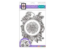 Mandala - MultiCraft Living In Color Art Therapy A4 Stickers