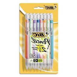 Mechanical Pencils with Colorful Barrels 0.7 mm Assorted 24/