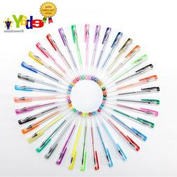 NEW! 36 Colored Gel Pen Set By Colourifique, Child, Adult, A