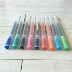 New type MUJI Gel Ink Ball Point Pen 0.38mm 9colors made in