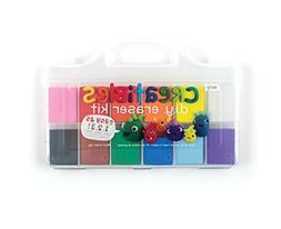 OOLY, Creatibles DIY Erasers, Set of 12