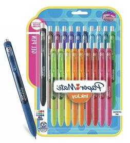 PaperMate InkJoy Gel Retractable Pen, 0.7mm, Assorted Ink, 2