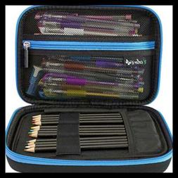 ColorIt Large Pencil Box Case Storage for Colored Pencils, G