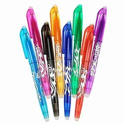 yuguEnviprot Pens & Writing Instruments 8Pcs 0.5mm Colorful