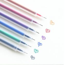 Plastic Gel Pens DIY Glitter Coloring Marker Drawing Paintin