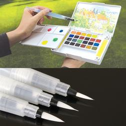 Refillable 1 Pc Water Brush Ink <font><b>Pen</b></font> For