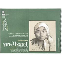 """Strathmore 412-118 400 Series Toned Gray Sketch Pad, 18""""x24"""""""