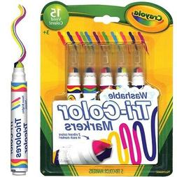 Crayola 5 Count Washable Triple Tips Markers