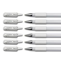 Dainayw White Gel Pen Set 0.8mm line for Artists Dark Papers